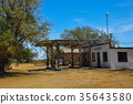 Abandoned Gas Station on Historic Route 66 35643580