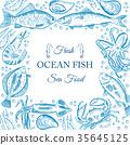 海鲜 海 鱼 35645125