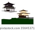 Kinkakuji Temple, kinkakuji, ginkaku-ji 35645371