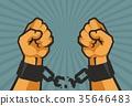 hand,fist,chain 35646483