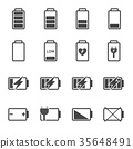 電池 ICON 圖示 35648491