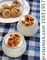 Yogurt with figs 35651957