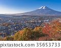 ภูเขาฟูจิ,ภูเขาไฟฟูจิ,ต้นเมเปิล 35653733