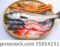 鱼 螃蟹 蟹 35654231
