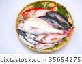 생선 모듬 재료 35654275