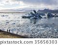 아이슬란드 빙하 요크 앤젤레스 아ゥ 르 로ゥ 프로그램 35656303