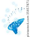 눈과 악기 _ 오카리나 35657871