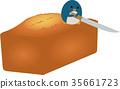 vector, vectors, pound cake 35661723