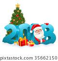 2018, christmas, santa 35662150
