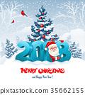 2018, christmas, santa 35662155