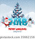 2018, christmas, santa 35662156