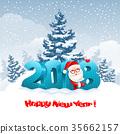 2018, christmas, santa 35662157