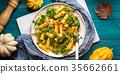 pumpkin autumn arugula 35662661