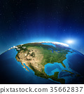 North America 3d rendering 35662837