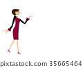 女企業家 女性白領 女商人 35665464