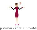 女企業家 女性白領 女商人 35665468