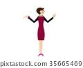 女企業家 女性白領 女商人 35665469