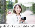 照相機 攝影女郎 女生 35667749