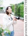 相機的女人 35667799