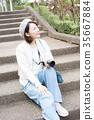照相機 攝影女郎 女生 35667884