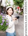 相機的女人 35668067