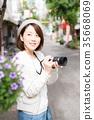 照相機 攝影女郎 女生 35668069