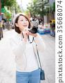 照相機 攝影女郎 女生 35668074