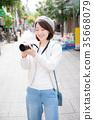 照相機 攝影 女生 35668079
