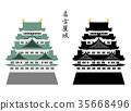 nagoya castle, castle, castles 35668496