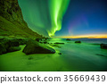aurora, beach, northern 35669439