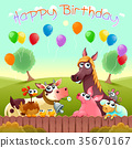 birthday, celebration, card 35670167