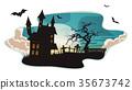 Halloween Background 35673742