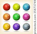 Multicolored Balls Set 35673749