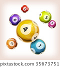 Snooker Balls Background 35673751