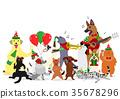 vector vectors dog 35678296