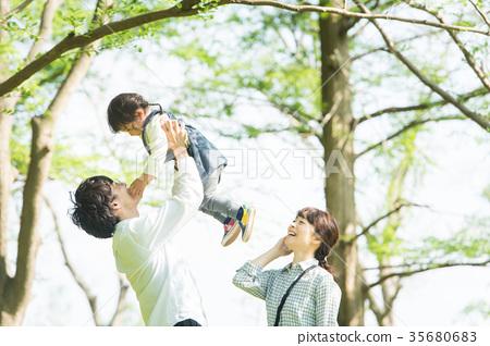 Happy family image 35680683