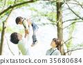 Happy family image 35680684