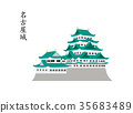nagoya castle, castle, castles 35683489