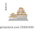 nagoya castle, castle, castles 35683490