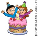 Happy birthday image for 1 year old 35685934