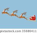 คริสต์มาส,คริสมาส,กวางเรนเดียร์ 35686411