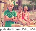 boy, friends, portrait 35688656