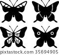 vector, vectors, butterfly 35694905