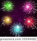 Holiday Fireworks Show 35699482