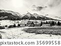 snow, snowy, mountain 35699558