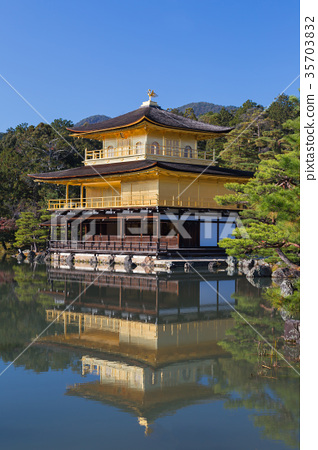 Kinkakuji temple called Golden temple 35703832