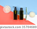 Cosmetic bottle containers. 35704689