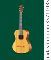 Realistic Detailed Acoustic Guitar Musical 35711085