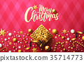 Christmas and New Years background 35714773