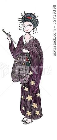 geisha 35719398